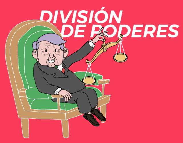 AMPLO CONTRA LA DIVISIÓN DE PODERES